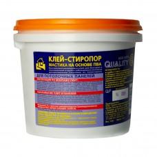 Клей Стиропор для пенополистерола 1,5 кг.